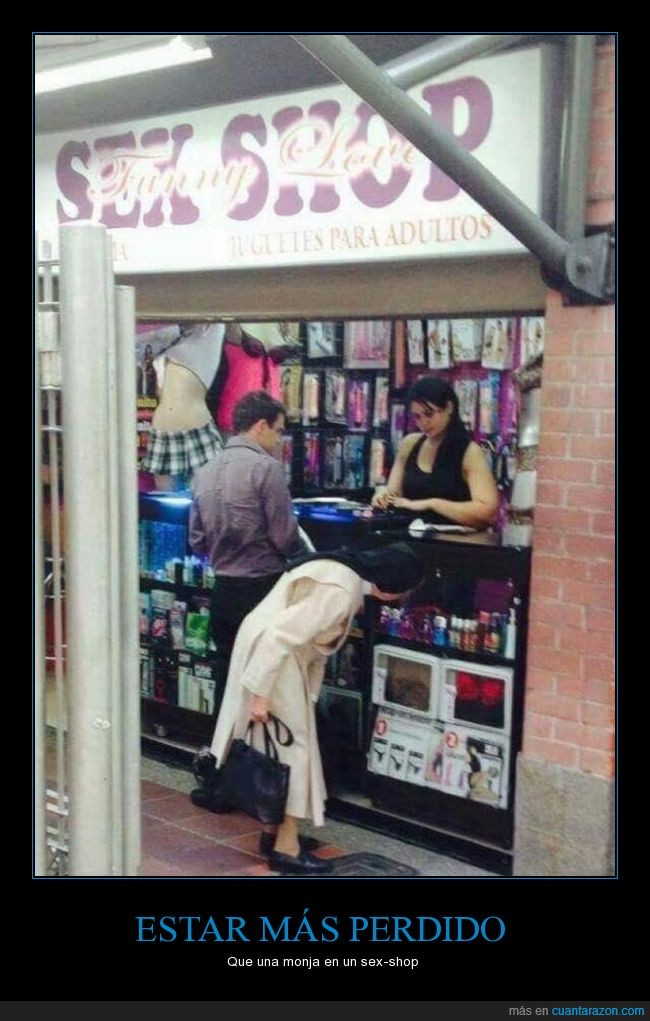monja,sexshop,tienda,wtf