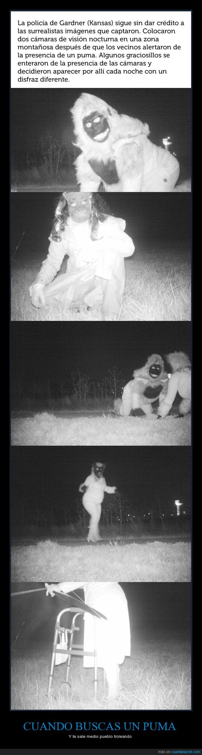 cámara oscura,policía,puma,troleo