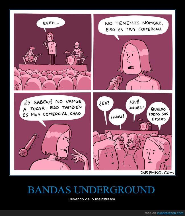 banda,comic,Música,publicidad,rock