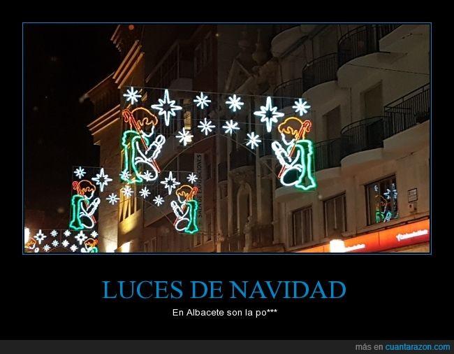 Albacete,alumbrado,Luces de Navidad