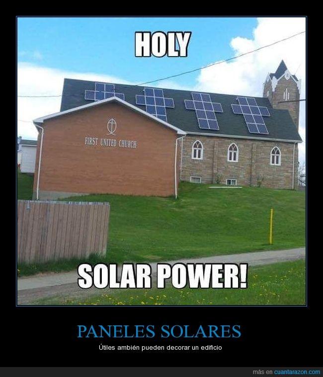 cruz,iglesia,paneles solares