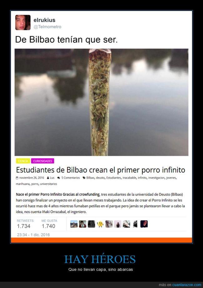 Bilbao,droga,marihuana,porro,vascos