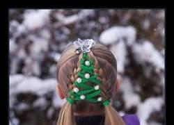Enlace a Espectacular colección de peinados navideños