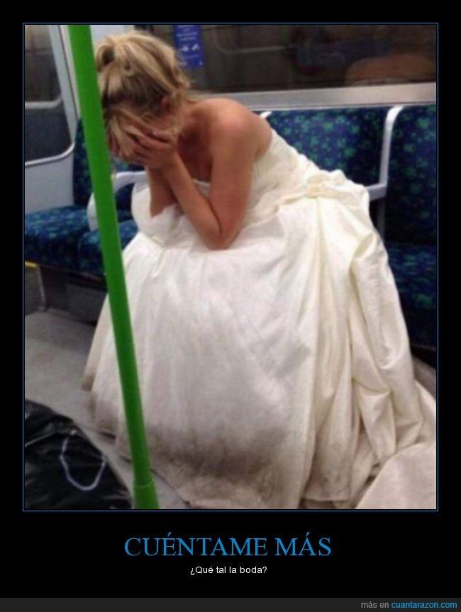 boda,casarse,jaja,llorar,novia,sad,wow