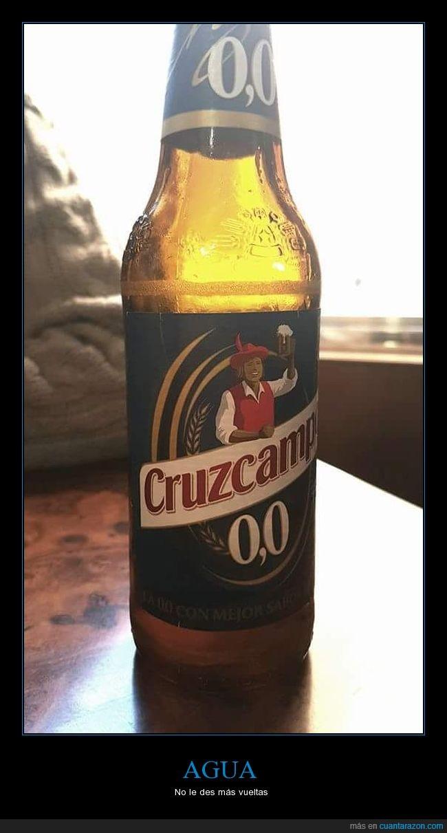 0'0,aguada,cerveza,cruzcampo,flipo,si ya es mala de por sí