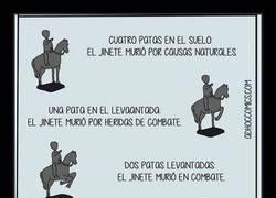 Enlace a Guía para comprender qué significan las estatuas con caballos
