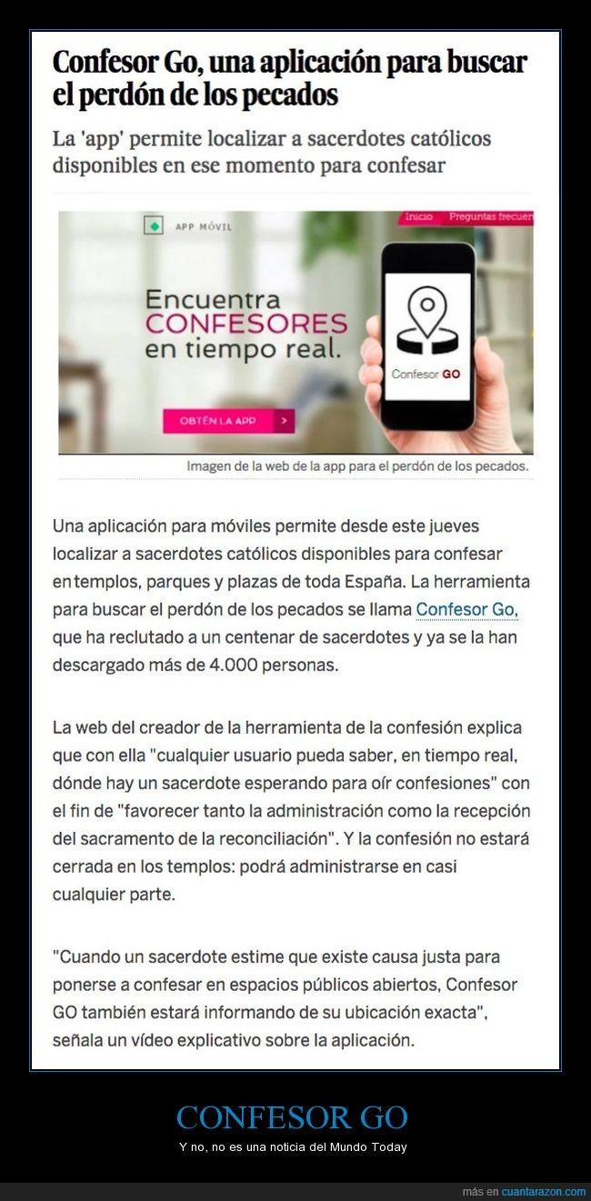 app,confesarse,confesor go,cura