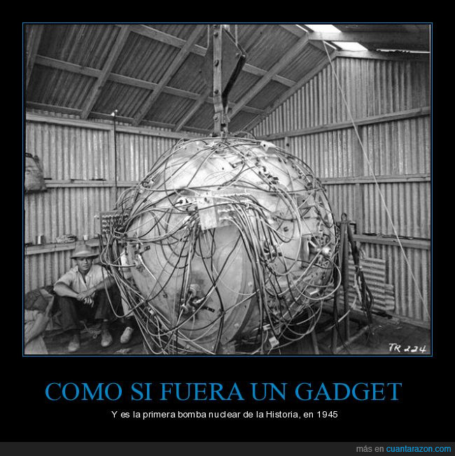 bomba nuclear,Gadget