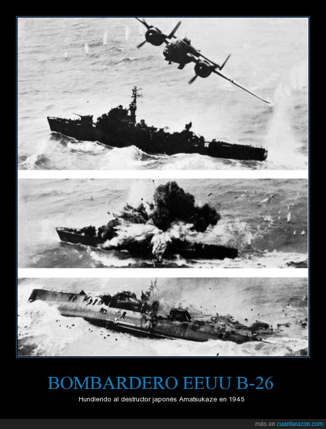 ataque,B-52,destructor,hundir,Japón,USA