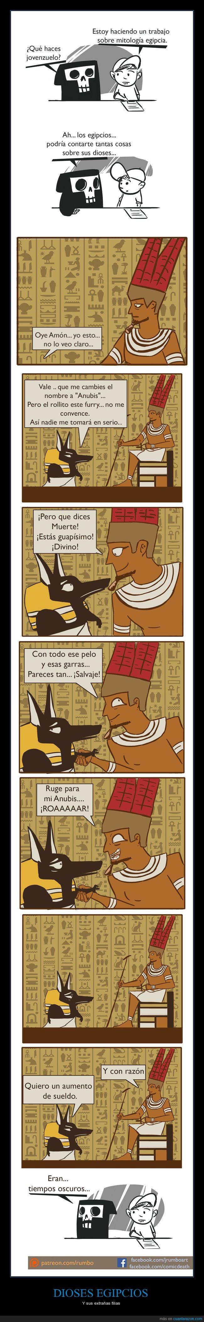 comic,egipcios,mitologia,muerte,niño