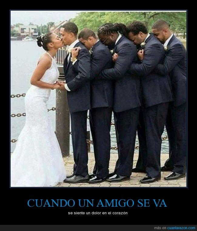 amigos,boda,novia,novio