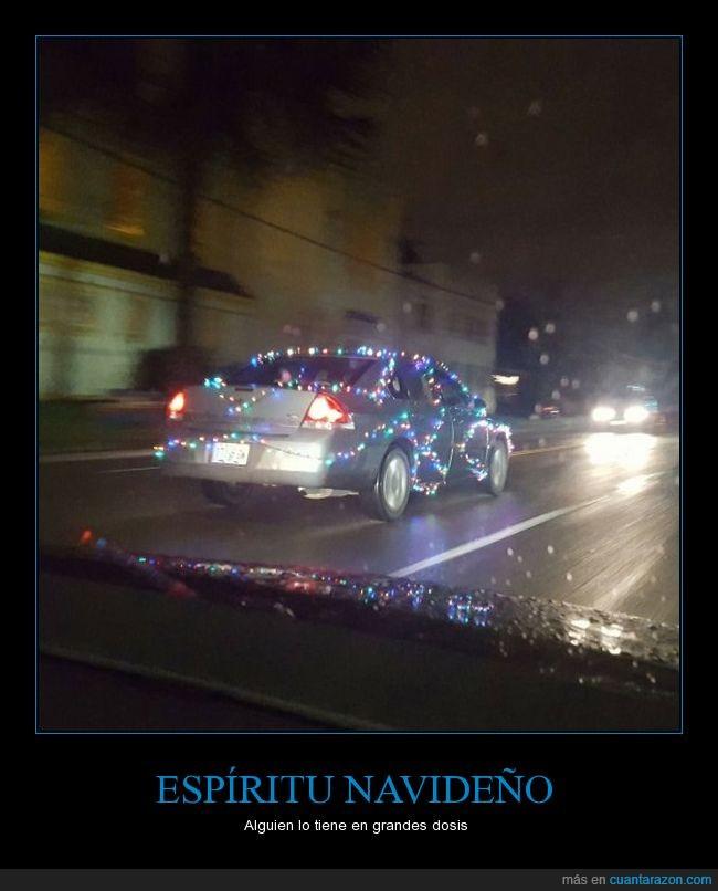 coche,espiritu,inovacion,jaja,luces,navidad