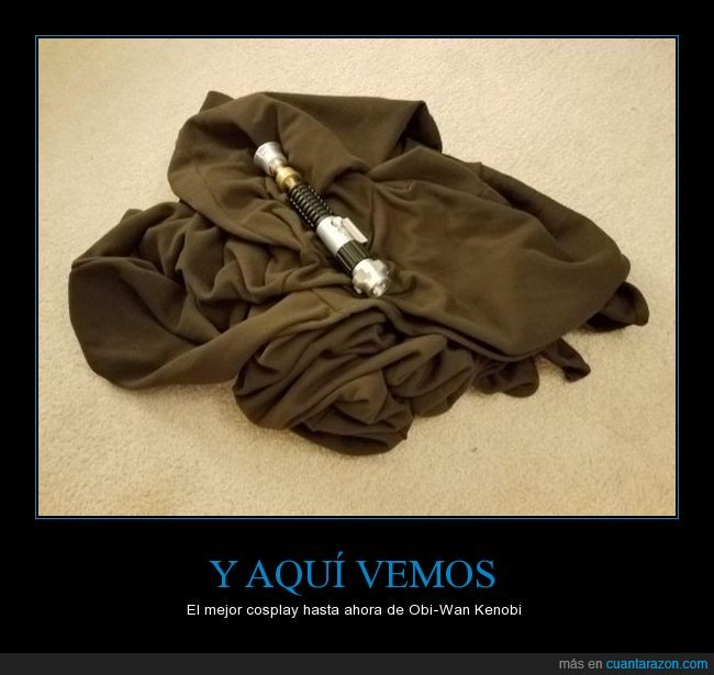 cosplay,jaja,obi wan,sable,star wars,toga