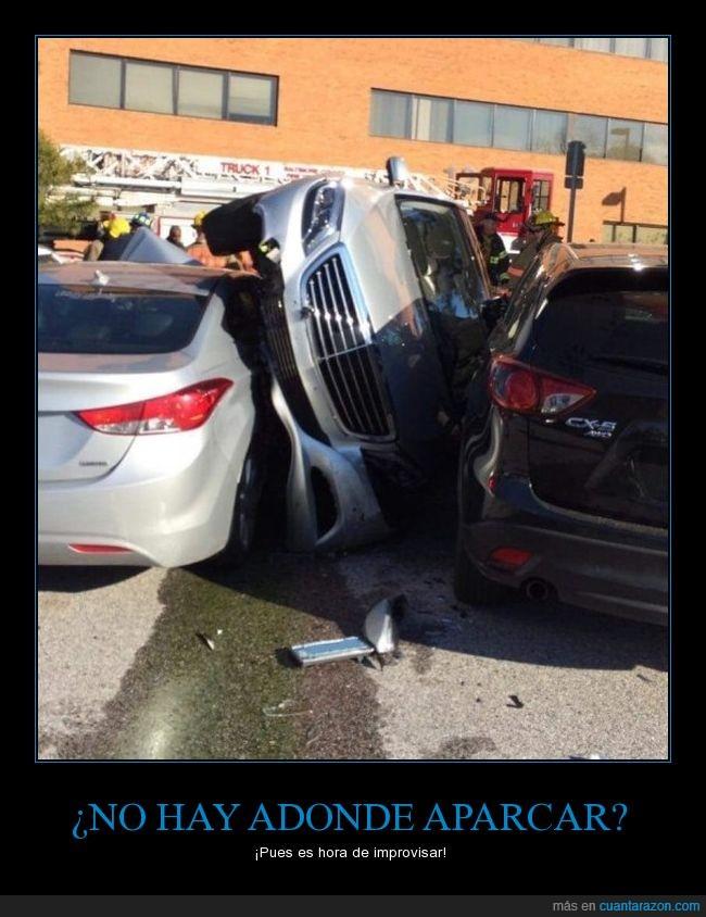 aparcar,coche,espacio,fail,jaja