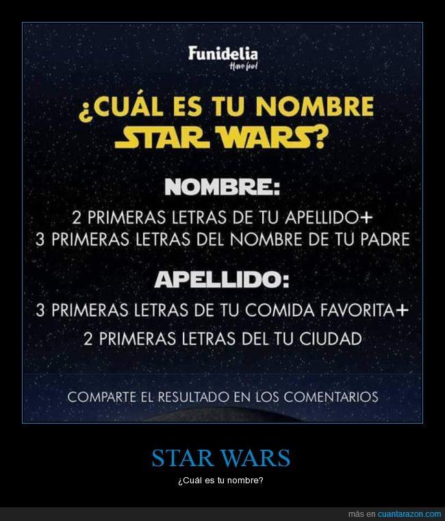 nombre,star wars