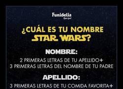 Enlace a ¿Cuál es tu nombre en Star Wars? By Funidelia