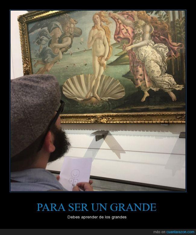 arte,cuadro,El nacimiento de Venus,humor,Sandro Botticelli