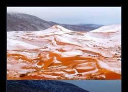 Enlace a Por primera vez en 37 años, ha vuelto a nevar en el Sahara