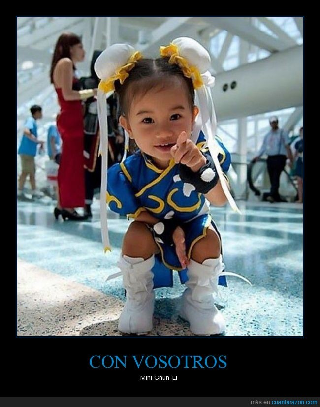 STREET FIGHTER,Tiny Chun-Li,video juego