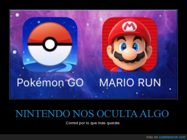 apps,mario run,nintendo,pokemon go,videojuegos