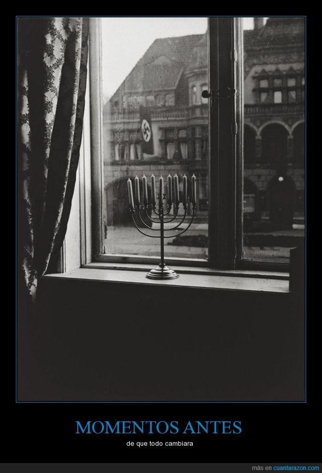 Alemania,candelabro,judios,Nazis