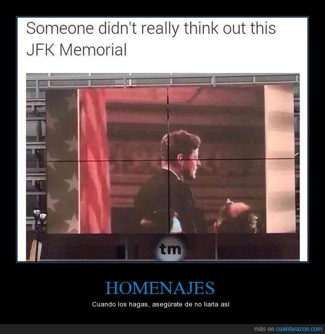 disparo,fail,homenaje,JFK