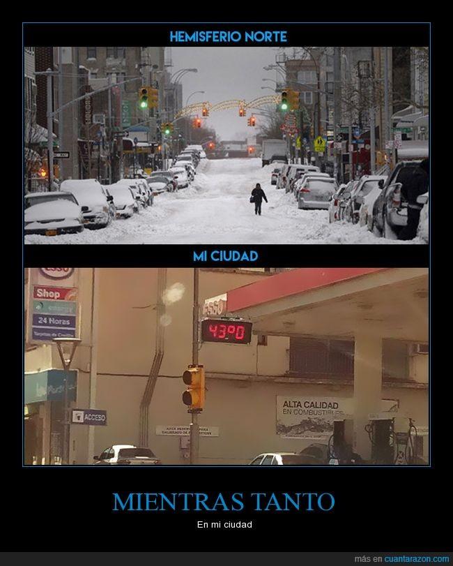 Argentina,blanca navidad,calor,frio,nos vamos a derretir,Posadas-Misiones,que me muero