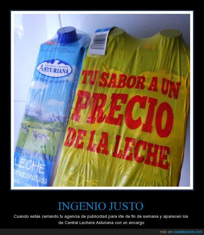 central lechera asturiana,publicidad,slogan