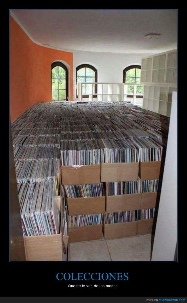 cajas,discos,vinilos