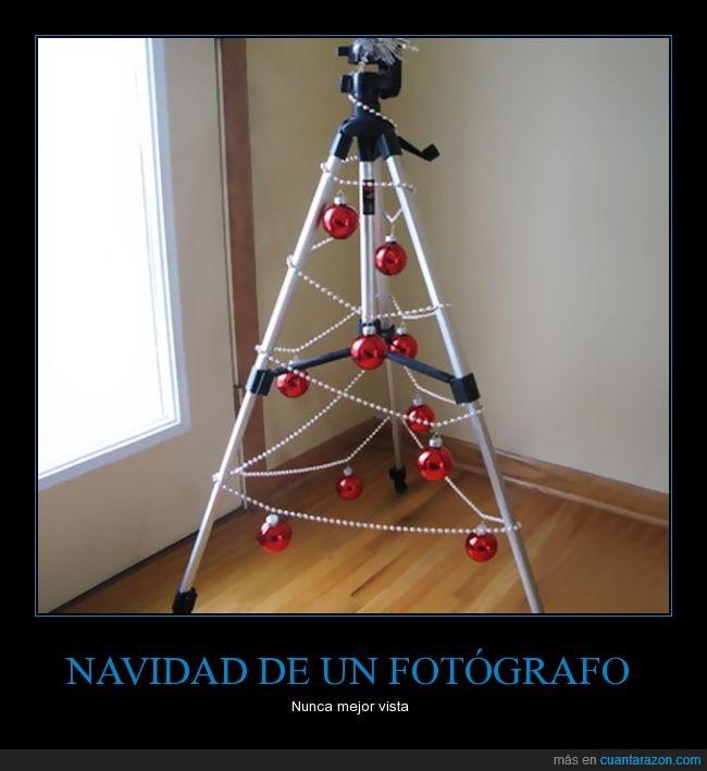 árbol de Navidad,Navidad,trípode