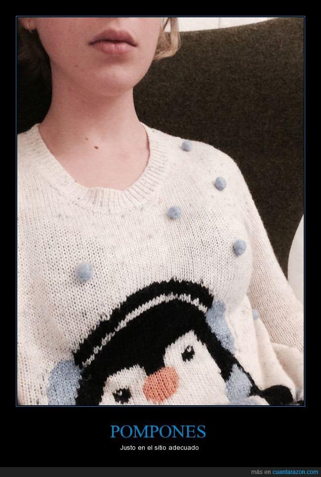 borlas,chica,jersei,nieves,sueter