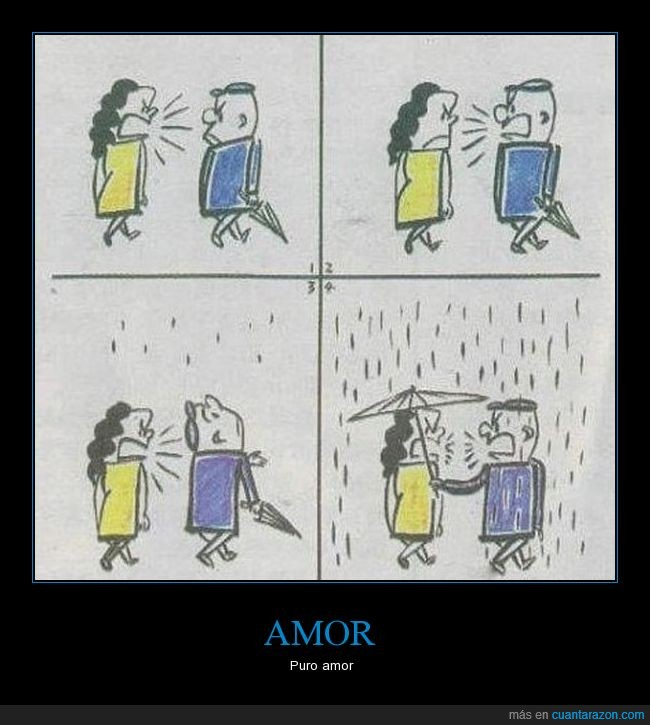 detalle,discutir,llover,paraguas,pareja
