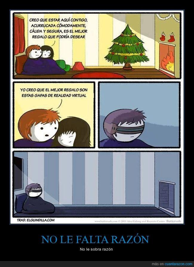 navidad,realidad virtual,soledad