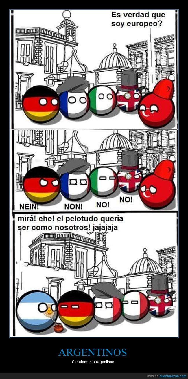 argentinos,europeos,humor
