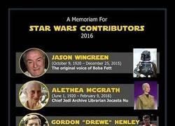 Enlace a Star Wars ha sido una de las sagas más afectadas en 2016