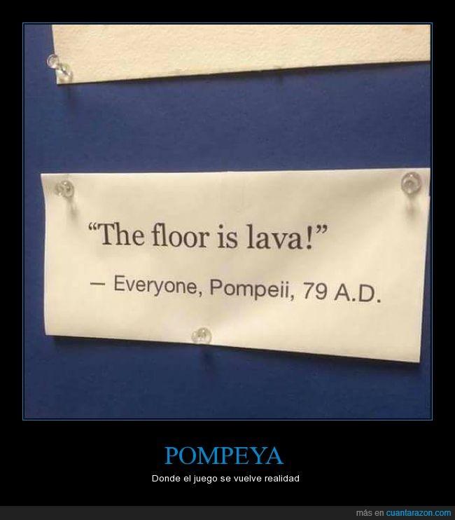 lava,pompeya,suelo
