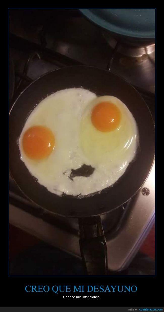 Desayuno,huevos,sartén