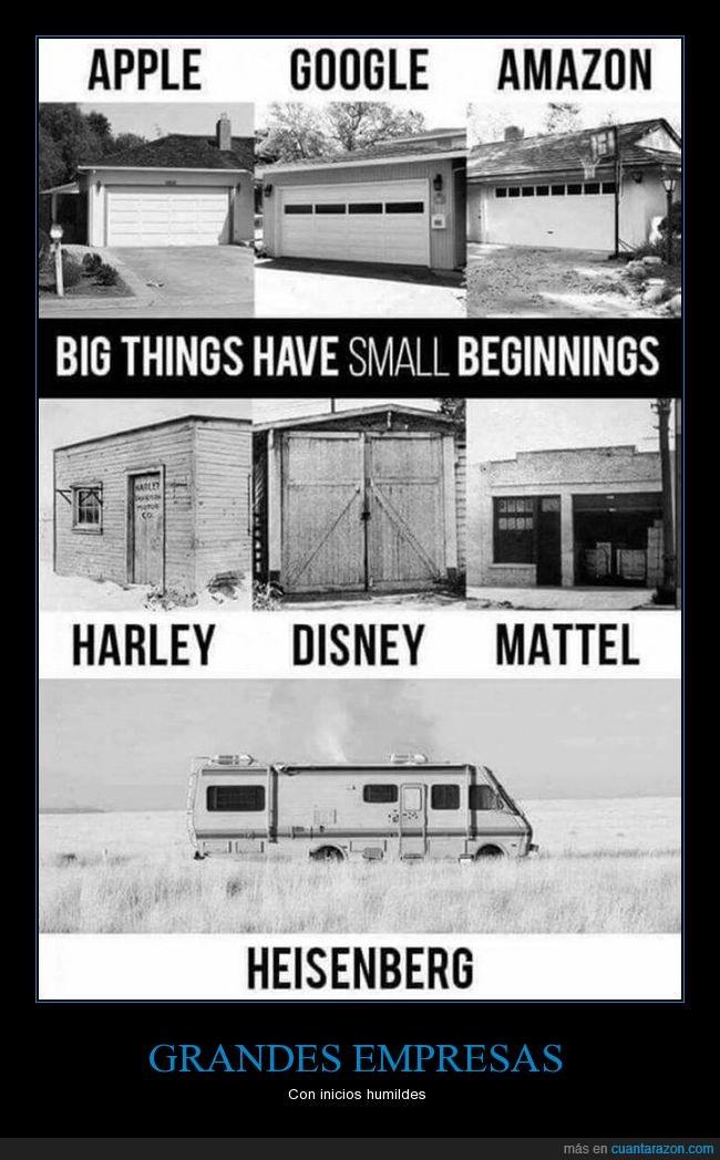 empresas,grandes,humilde,inicio