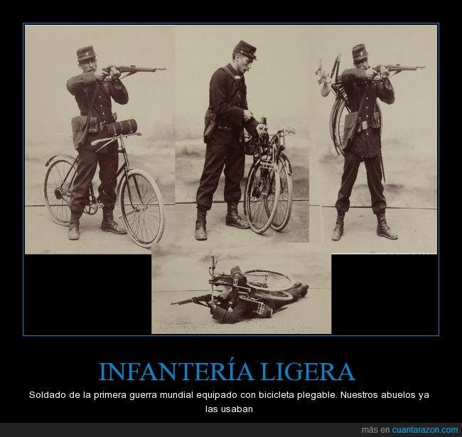 Bicicleta,Soldado