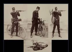 Enlace a Las bicis plegables ya hace muchos años que circulan