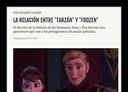 Enlace a El director de Frozen confirma el parentesco entre Tarzan y Elsa y todo el mundo enloquece