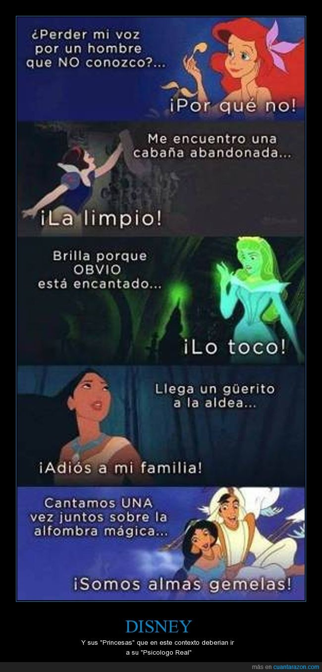 Disney,Princesas,Psicologo.
