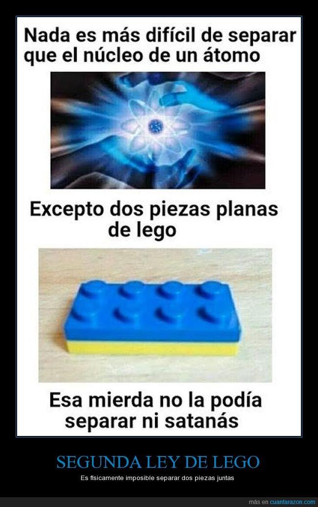 átomo,lego,separar