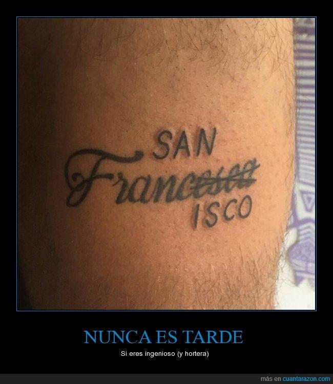corregir,francesca,san francisco,tatuaje