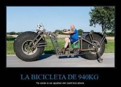 Enlace a LA BICICLETA DE 940KG