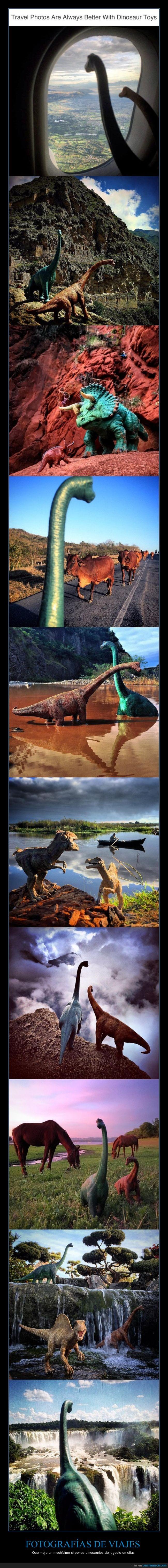 dinosaurios,fotografías,fotos,juguetes,viajes