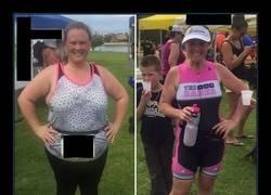 Enlace a La diferencia entre las dos fotos es un año compitiendo en triatlones