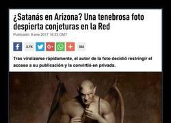 Enlace a ¿Satanás en Arizona? Una tenebrosa foto capturada hace que todo el mundo se ponga a rezar