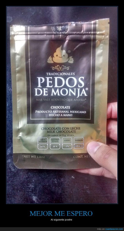 chocolate,chocolates mexicanos,mexico,pedos,pedos de monja