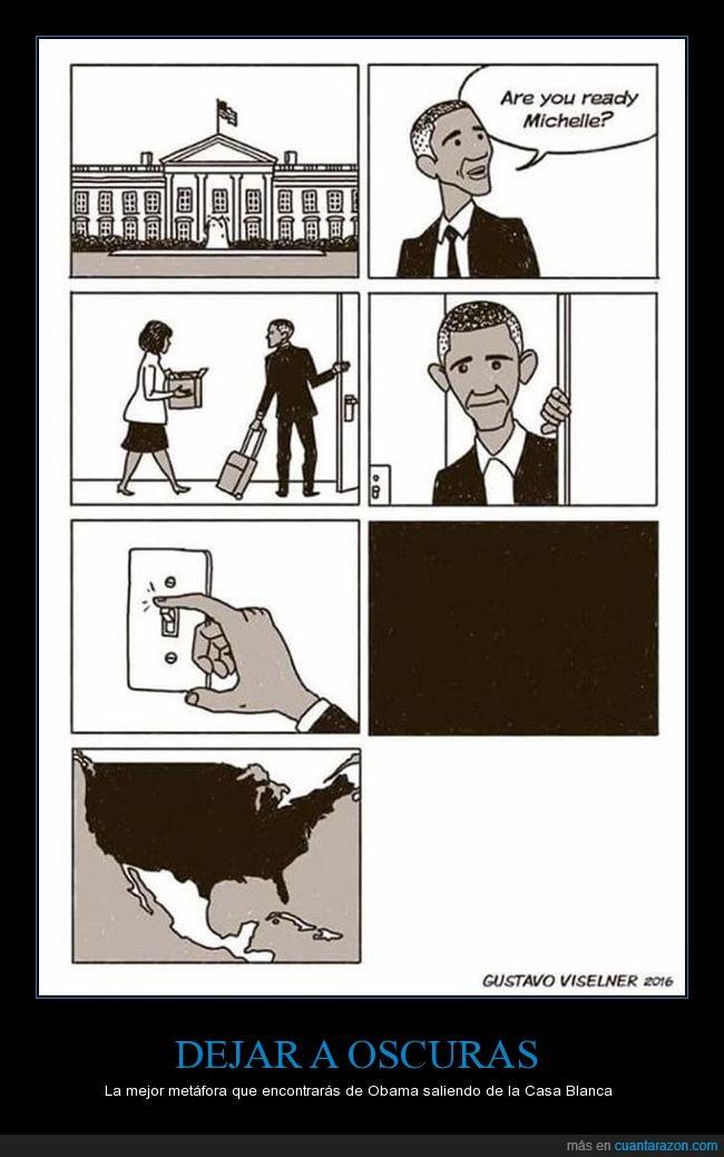 apagar la luz,casablanca,negro,obama